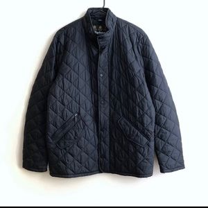 BARBOUR Nylon Quilted Jacket Black